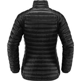 Haglöfs Essens Manteau en duvet Femme, true black/magnetite